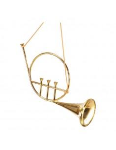 Cuerno instrumento decorativo para la decoración navideña de centros comerciales calles tiendas