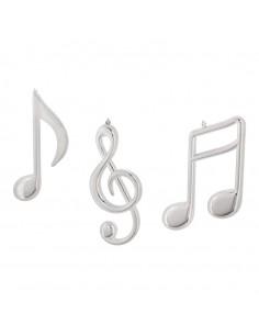 Notas musicales decorativas para la decoración navideña de centros comerciales calles tiendas