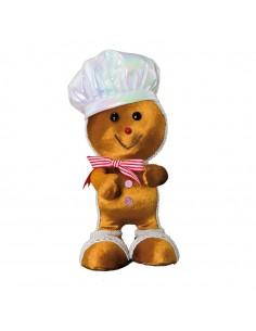 Figura de pan de jengibre para la decoración navideña de centros comerciales calles tiendas