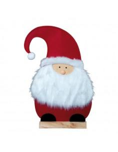 Papa noel decorativo para la decoración navideña de centros comerciales calles tiendas