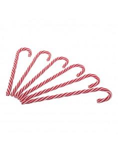 Bastón de caramelo para la decoración navideña de centros comerciales calles tiendas
