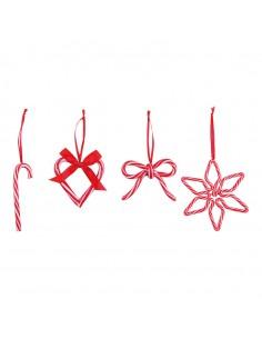 Set de caramelos para la decoración navideña de centros comerciales calles tiendas