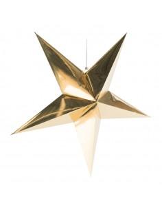 Estrella decorativa para la decoración navideña de centros comerciales calles tiendas
