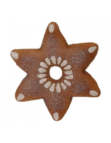 Estrella de pan de jengibre para la decoración navideña de centros comerciales calles tiendas