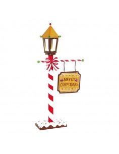 Farola decorativa de navidad para la decoración navideña de centros comerciales calles tiendas