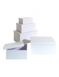 Set de caja de regalo para la decoración de árboles de navidad