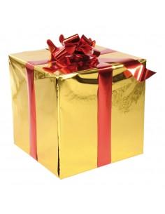Caja de regalo para la decoración de árboles de navidad