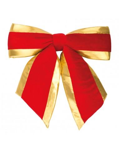 Lazo de terciopelo para la decoración de árboles de navidad