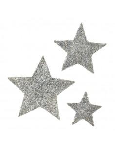 Estrella de sisal para la decoración de centros comerciales calles y tiendas