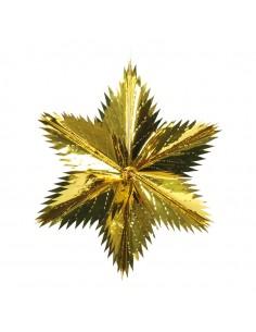 Estrella de corte puntiagudo para la decoración de centros comerciales calles y tiendas