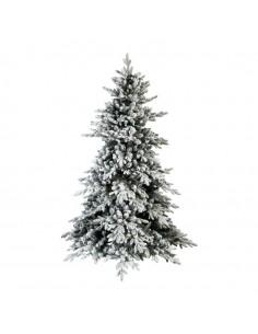 Árbol de navidad noble nevado B1 para la decoración de navidad con bolas y accesorios