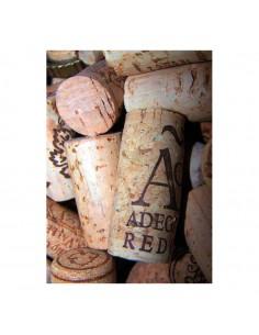 Banner-foto corchos de vino para la decoración del fondo decorativo en los escaparates de tiendas