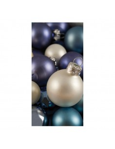 Banner-foto bolas de navidad para la decoración del fondo decorativo en los escaparates de tiendas