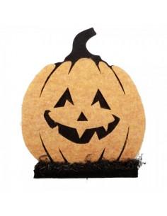 Calabaza Cara decoración Halloween Para escaparates y fiestas en Halloween