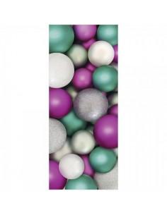 Banner Bolas de Navidad para la decoración de escaparates en navidad