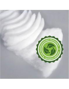 Estera de nieve orgánica artificial para escaparates y ambiente invernal