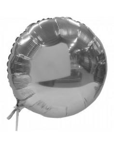 Globo de aluminio metalizado para la decoración navideña de centros comerciales calles tiendas