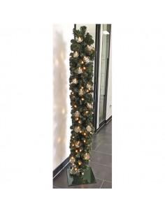 LumiClick set guirlanda vertical de luces LED clip para la decoración en navidad fachadas calles centros comerciales tiendas