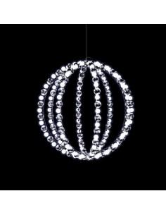 Anillos de esfera colgantes luces LED para la decoración en navidad fachadas calles centros comerciales tiendas