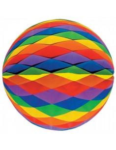 Bola panal de papel para la decoración de fiestas populares y escaparates