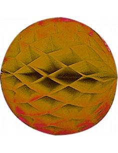 Bola nido de abeja de papel plegable para la decoración de fiestas populares y escaparates