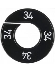 Disco tallas 34  para el interior de espacios de tiendas o comercios