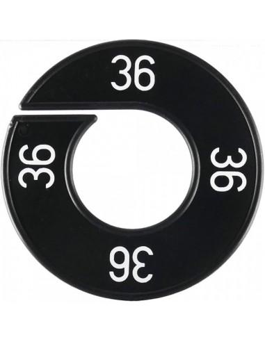 Disco tallas 36 para el interior de espacios de tiendas o comercios