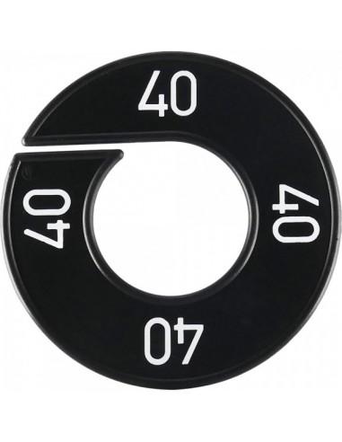 Disco tallas 40 para el interior de espacios de tiendas o comercios