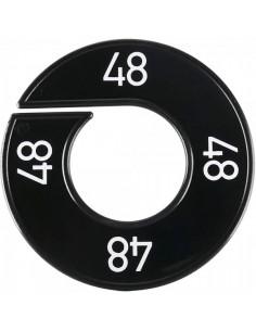 Disco tallas 48 para el interior de espacios de tiendas o comercios