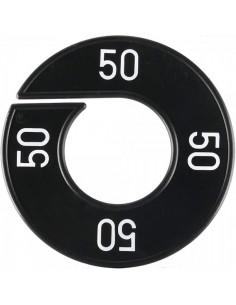 Disco tallas 50 para el interior de espacios de tiendas o comercios