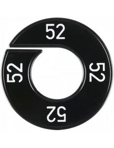 Disco tallas 52 para el interior de espacios de tiendas o comercios