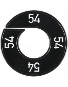 Disco tallas 54 para el interior de espacios de tiendas o comercios