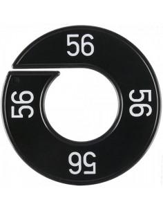 Disco tallas 56 para el interior de espacios de tiendas o comercios