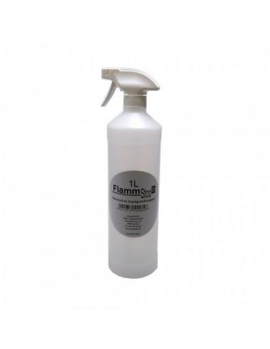 Spray retardante de llamas para el interior de espacios de tiendas o comercios