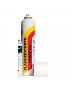 Spray retardante de llamas B1 para el interior de espacios de tiendas o comercios