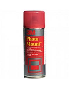 Spray adhesivo para montaje fotográfico para el interior de espacios de tiendas o comercios