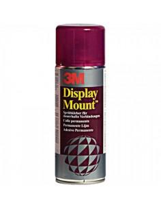 Spray adhesivo para montaje en superficies porosas para el interior de espacios de tiendas o comercios
