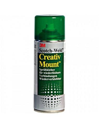 Spray adhesivo para montaje despegado fácil para el interior de espacios de tiendas o comercios
