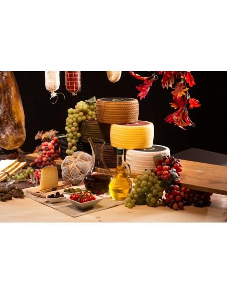 ficticio de queso manchego, réplica de queso manchego, queso de plástico