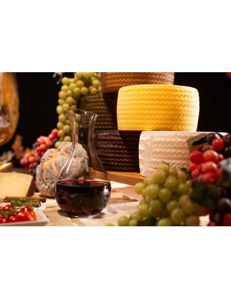 imitación de queso manchego, ficticio de queso manchego, réplica de queso manchego, queso de plástico