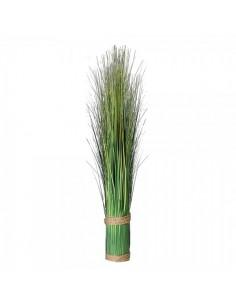 Manojo de hierba silvestre para escaparates de primavera en tiendas y centros comerciales