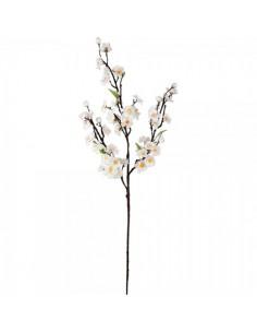 Rama floreciente color blanco blanco 95cm