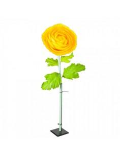 Flor ranúnculos xl para escaparates de primavera en tiendas y centros comerciales