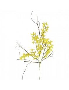 Rama de flor forsitia-forsythia para escaparates de pastelerías en pascua de semana santa