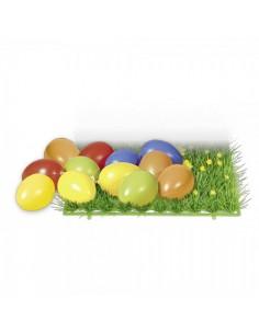 Huevos de pascua para escaparates de pastelerías en pascua de semana santa