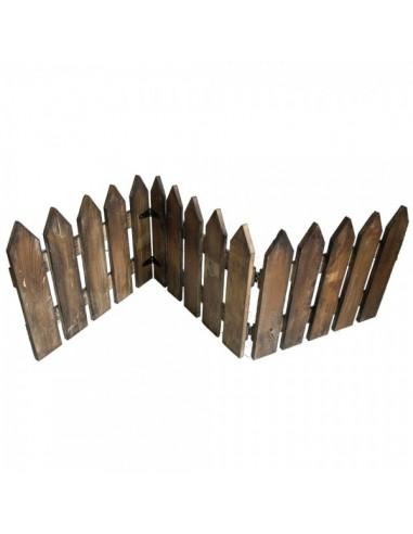 Valla de madera de 3 partes vintage para la decoración de espacios en hoteles y escaparates en tiendas