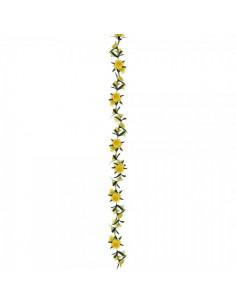 Guirnalda de flor de campana para escaparates de pastelerías en pascua de semana santa