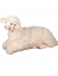 Peluche de oveja ovis sentada xl para la decorar espacios y escaparates de verano con mamíferos y aves