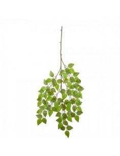 Rama con 105 hojas de abedul para escaparates veraniegos con helados en tiendas