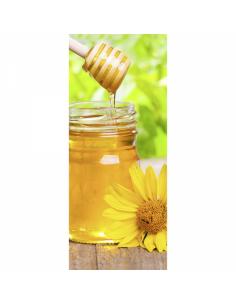 Banner-poster tarro de miel de abeja Para la decoración de escaparates de tiendas